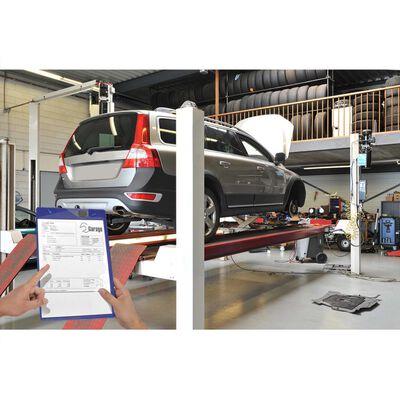 ProPlus Werkstattauftragstasche A4 10 Stk. lila 580042