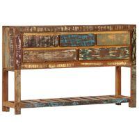 vidaXL Sideboard 120 x 30 x 75 cm Recyceltes Massivholz