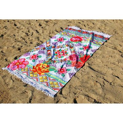 Happiness Strandtuch YUCATAN 100×180 cm Mehrfarbig