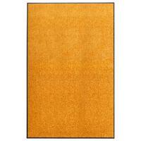 vidaXL Fußmatte Waschbar Orange 120x180 cm