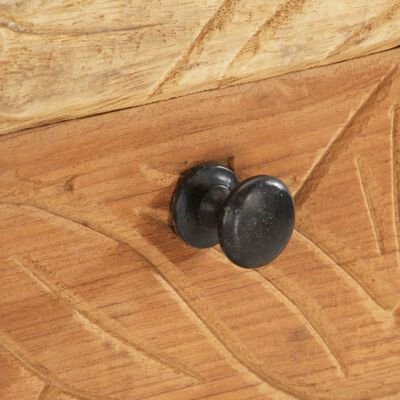 vidaXL Beistellschrank 60x30x75 cm Altholz Massiv