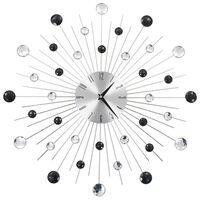 vidaXL Wanduhr mit Quarzwerk Modernes Design 50 cm