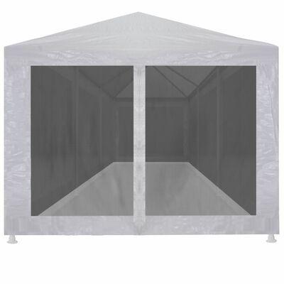 vidaXL Partyzelt mit 8 Mesh-Seitenwänden 9 x 3 m
