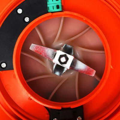 vidaXL 3-in-1 Benzin-Laubbläser 26 ccm Orange