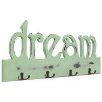vidaXL Wandgarderobe DREAM 50 x 23 cm