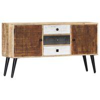 vidaXL Sideboard 118x30x62 cm Massivholz Mango