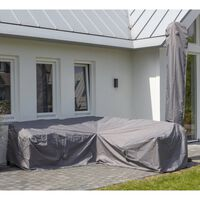 Madison Garten-Lounge-Set-Abdeckung 270x210x90 cm Links Grau