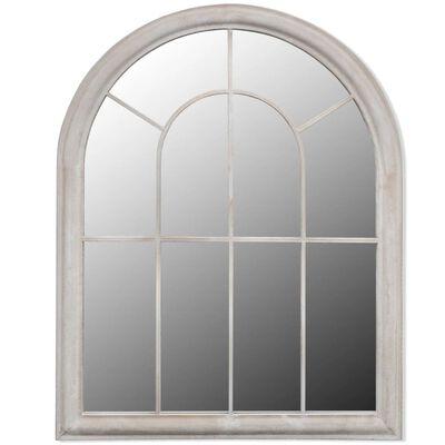 vidaXL Rustikaler Gartenspiegel Bogen 69×89 cm für Indoor und Outdoor