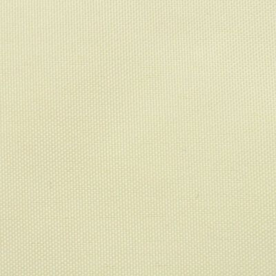 vidaXL Sonnensegel Oxfordgewebe Quadratisch 2 x 2 m Creme