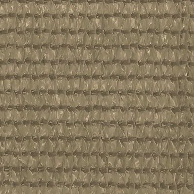 vidaXL Zeltteppich 250x500 cm Taupe