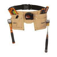 Toolpack Werkzeuggürtel 2 Taschen Leder Regular 366.008