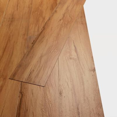 vidaXL PVC Laminat Dielen 4,46 m² 3 mm Ulme Natur