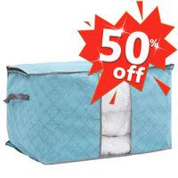 Faltbare Aufbewahrungstasche für Bettdecken 60×42×36 cm