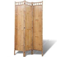 Bambus Raumteiler Paravent 3-teilig