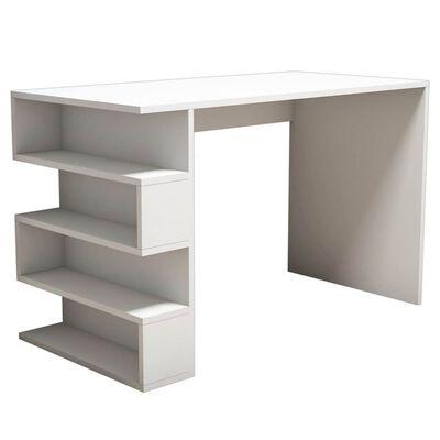 Homemania Computer-Schreibtisch Limber 120x60x75 cm Weiß