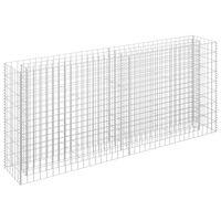 vidaXL Gabionen-Hochbeet Verzinkter Stahl 180×30×90 cm