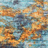 vidaXL Teppich Bedruckt Mehrfarbig 160×230 cm Polyester