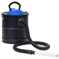 vidaXL Aschesauger mit HEPA-Filter 1200W 20 L Edelstahl