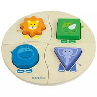 Beleduc Funny Four Puzzle 18004