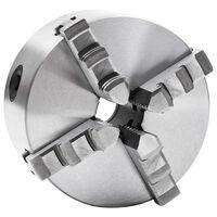 vidaXL 4-Backen-Drehfutter Selbstzentrierend 125 mm Stahl