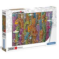 Clementoni Puzzle Mordillo Jungle 2000 Teile