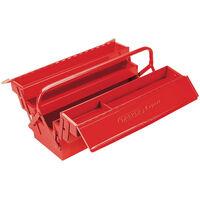 Draper Tools Expert-Werkzeugkiste 53×20×21 cm Rot