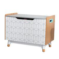 KidKraft Spielzeugkiste Mid-Century Modern Grau 74×46×56 cm