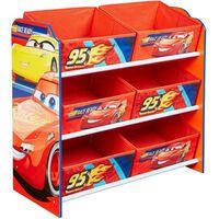 Disney Aufbewahrungsregal Cars mit 6 Boxen 60x30x64 cm WORL320019