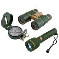 Scout 3-tlg. Abenteuer-Set Armeegrün