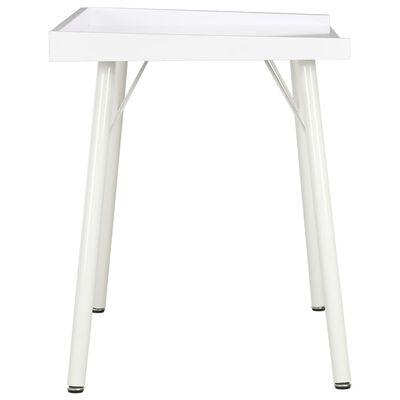 vidaXL Schreibtisch Weiß 90×50×79 cm