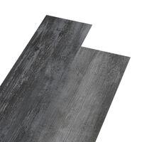 vidaXL PVC-Laminat-Dielen 4,46 m² 3 mm Selbstklebend Glänzend Grau