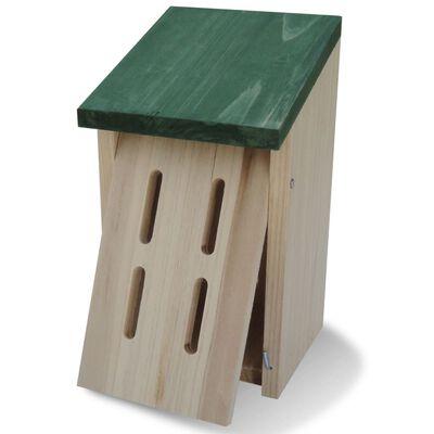 vidaXL Schmetterlingshäuser 8 Stk. Holz 14 x 15 x 22 cm