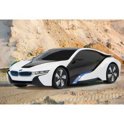 Jamara Ferngesteuerter Sportwagen BMW I8 27 MHz 1:24 Weiß