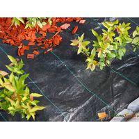 Nature Unkrautschutz-Bodengewebe 1×50 m Schwarz