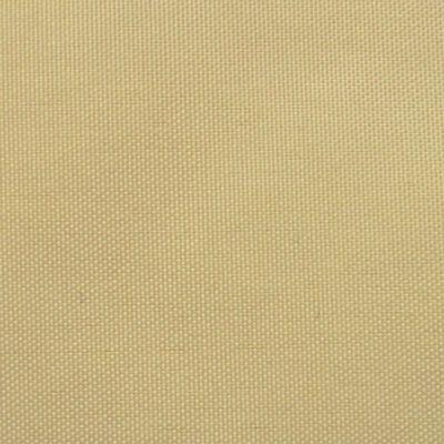 vidaXL Balkonsichtschutz Oxfordgewebe 75x400 cm Beige