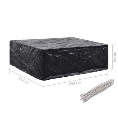 vidaXL Gartenmöbel-Abdeckung 8 Ösen 250x210x90 cm