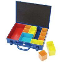 Draper Tools Sortimentskasten mit 11 Fächern 32,9×22,5×6,5 cm Blau
