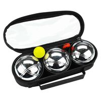 Get & Go Spiel Boule-Set  3 Kugeln Silbern COD 52JP-COD-Uni