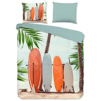 Good Morning Bettwäsche-Set SURF 135x200 cm Mehrfarbig