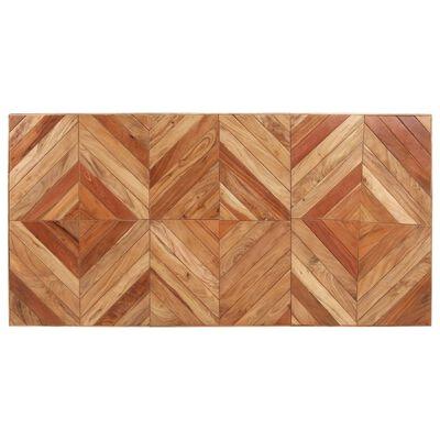 vidaXL Esstisch 180x90x76 cm Akazie und Mango Massivholz