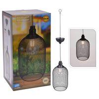 ProGarden LED Garten-Pendelleuchte Solar Metall 15 cm