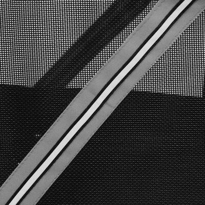 FLAMINGO Hunde-Fahrradanhänger Romero Grau 59,5 x 43 x 51 cm