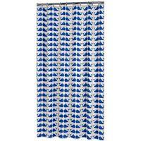 Sealskin Duschvorhang Wahle Blau-Weiß