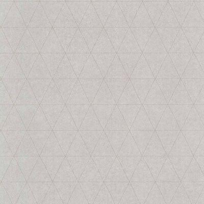 couleurs & matières Tapete Triangles Grau