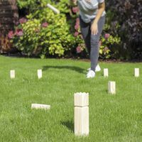 HI Outdoor-Kubb-Spiel Holz