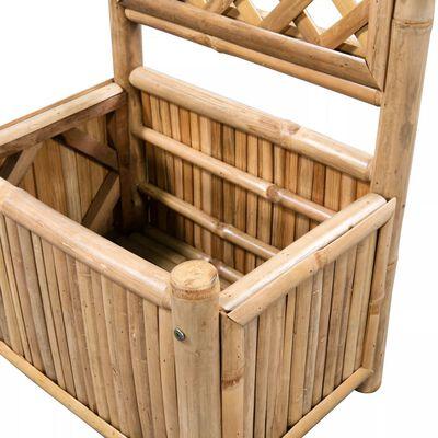 vidaXL Garten-Hochbeet mit Spalier Bambus 40 cm