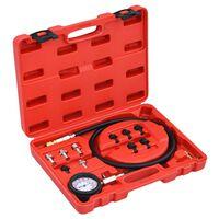 vidaXL 12-tlg. Öldruckprüfer-Set