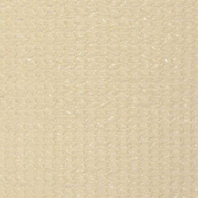 vidaXL Außenrollo 220 x 140 cm Cremeweiß
