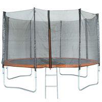 TRIGANO Trampolin mit Netz 427 cm