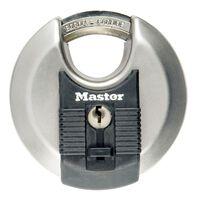 Master Lock Disc Schloss Excell Edelstahl 80 mm M50EURD